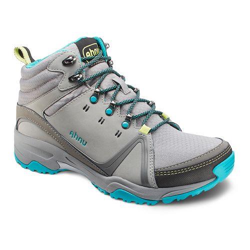 Womens Ahnu Alamere Mid Hiking Shoe - Medium Grey 10.5