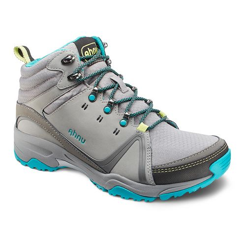 Womens Ahnu Alamere Mid Hiking Shoe - Medium Grey 6.5