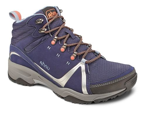 Womens Ahnu Alamere Mid Hiking Shoe - Iris Shadow 8