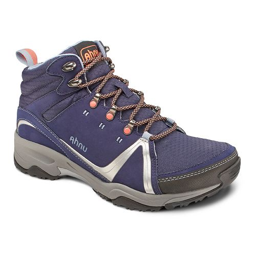 Womens Ahnu Alamere Mid Hiking Shoe - Iris Shadow 7