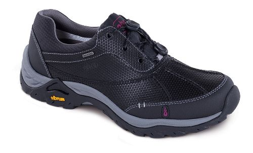Womens Ahnu Calaveras WP Hiking Shoe - Black 8