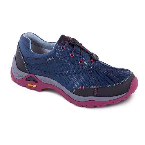 Womens Ahnu Calaveras WP Hiking Shoe - Blue Spell 7.5