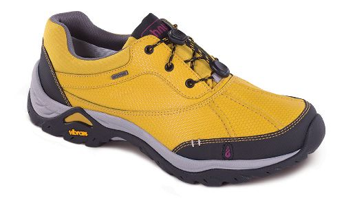 Womens Ahnu Calaveras WP Hiking Shoe - Golden Mustard 10