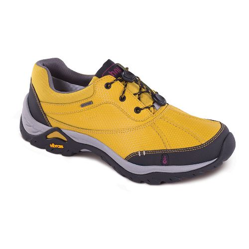 Womens Ahnu Calaveras WP Hiking Shoe - Golden Mustard 7.5