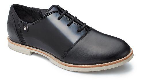 Womens Ahnu Emery Patent Casual Shoe - Black 8