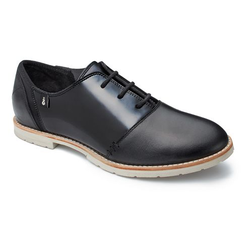 Womens Ahnu Emery Patent Casual Shoe - Black 8