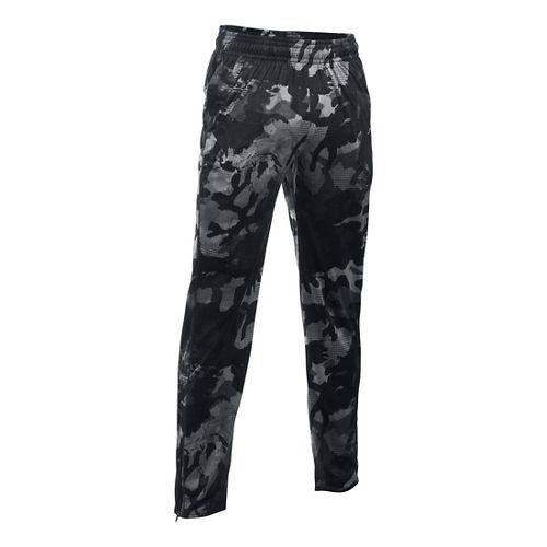 Mens Under Armour Tech Novelty Pants - Black LR