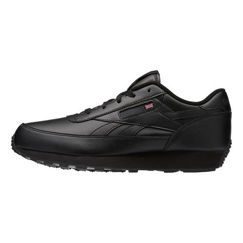 Mens Reebok Classic Renaissance Casual Shoe - Black/Grey 8.5