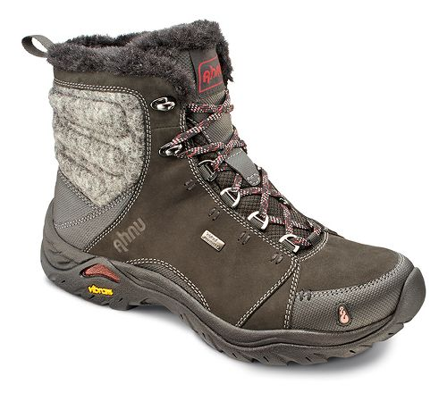 Womens Ahnu Montara Boot Luxe WP Hiking Shoe - Black 10
