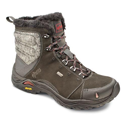 Womens Ahnu Montara Boot Luxe WP Hiking Shoe - Black 10.5