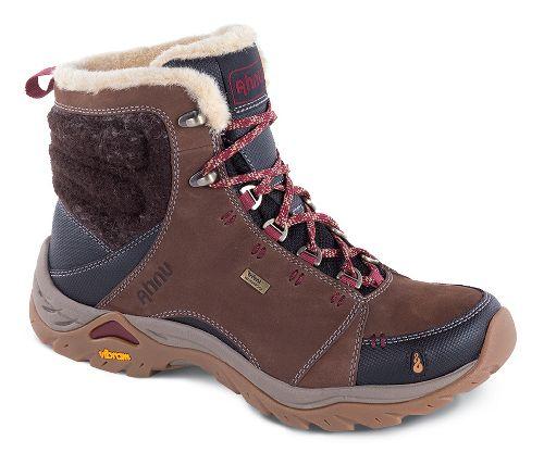 Womens Ahnu Montara Boot Luxe WP Hiking Shoe - Corduroy 10