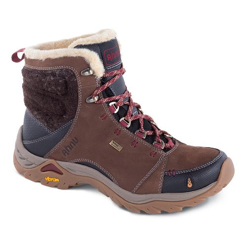 Womens Ahnu Montara Boot Luxe WP Hiking Shoe - Corduroy 11