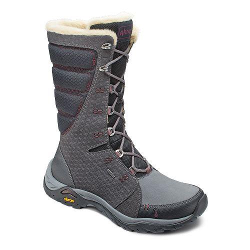 Womens Ahnu Northridge Star Suede Insulated WP Hiking Shoe - Granite 6.5