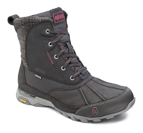 Womens Ahnu Sugar Peak Insulated WP Hiking Shoe - Black 5