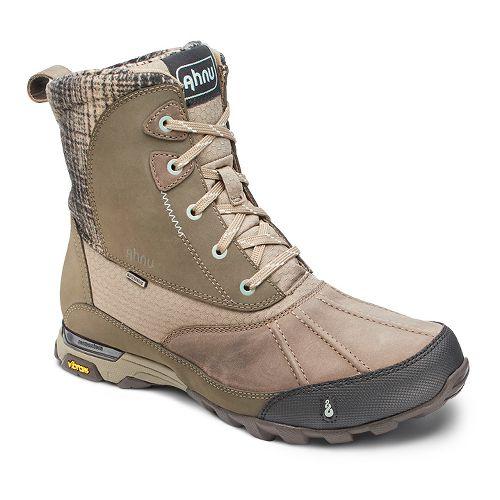 Womens Ahnu Sugar Peak Insulated WP Hiking Shoe - Alder Bark 10