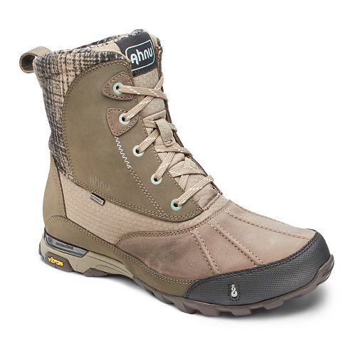 Womens Ahnu Sugar Peak Insulated WP Hiking Shoe - Alder Bark 9.5