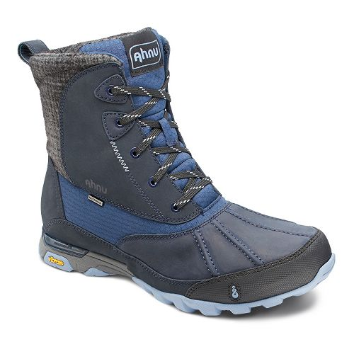 Womens Ahnu Sugar Peak Insulated WP Hiking Shoe - Blue Spell 9.5