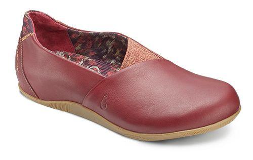 Womens Ahnu Tola Casual Shoe - Merlot 7.5