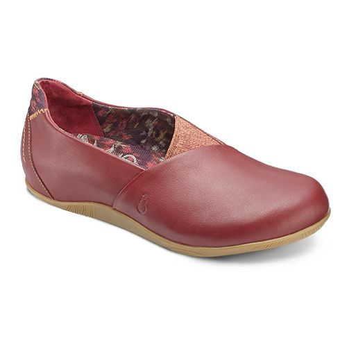 Womens Ahnu Tola Casual Shoe - Merlot 5