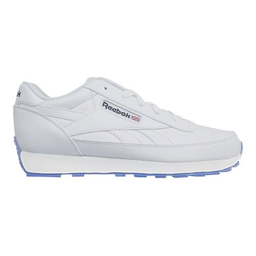 Mens Reebok Classic Renaissance Ice Casual Shoe - White/Navy 7.5