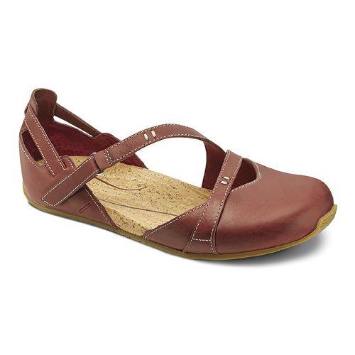 Womens Ahnu Tullia II Casual Shoe - Merlot 10.5