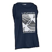 Mens Under Armour Turned Up Sleeveless & Tank Technical Tops