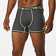 "Mens Road Runner Sports SuperLight 3"" Printed Boxer Brief Underwear Bottoms"