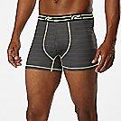 """Mens Road Runner Sports SuperLight 3"""" Printed Boxer Brief Underwear Bottoms"""