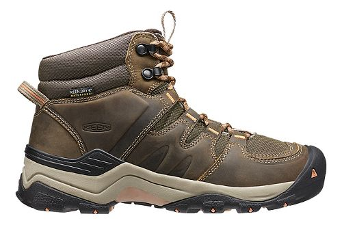 Womens Keen Gypsum II Mid WP Hiking Shoe - Cornstock/Gold 10
