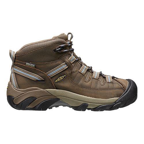 Womens Keen Targhee II Mid WP Hiking Shoe - Slate/Stone 6.5