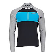 Mens Zoot Ocean Side 1/2 Zip Long Sleeve Technical Tops