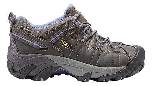 Womens Keen Targhee II WP Hiking Shoe - Magnet/Periwinkle 5.5