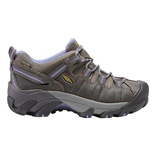 Womens Keen Targhee II WP Hiking Shoe - Magnet/Periwinkle 10.5