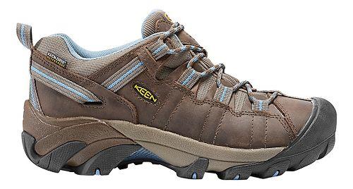 Womens Keen Targhee II WP Hiking Shoe - Dark Earth/Allure 8