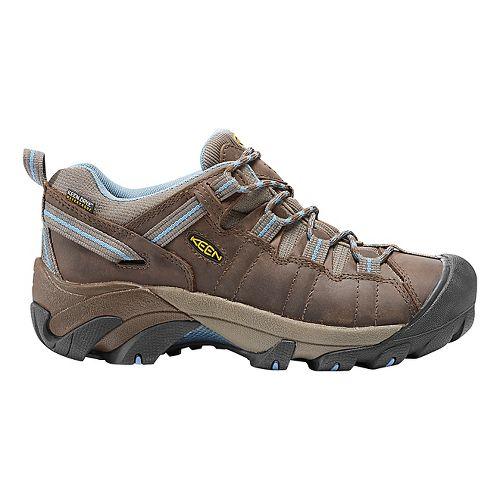 Womens Keen Targhee II WP Hiking Shoe - Dark Earth/Allure 5