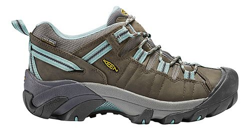 Womens Keen Targhee II WP Hiking Shoe - Olive/Blue 11
