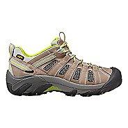 Womens Keen Voyageur Hiking Shoe - Grey/Green 10.5