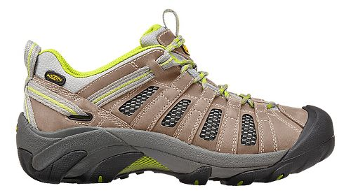 Womens Keen Voyageur Hiking Shoe - Grey/Green 7