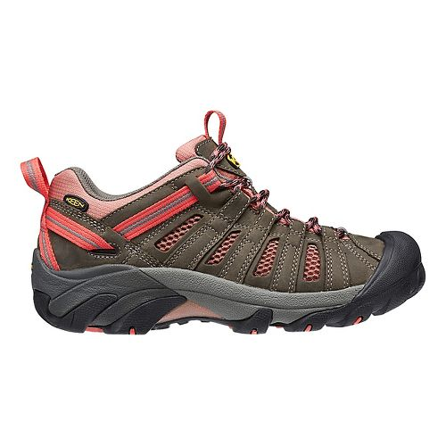 Womens Keen Voyageur Hiking Shoe - Raven Rose 10
