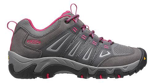 Womens Keen Oakridge Hiking Shoe - Magnet/Rose 6.5