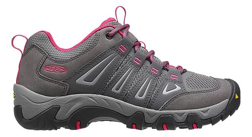 Womens Keen Oakridge Hiking Shoe - Magnet/Rose 9.5