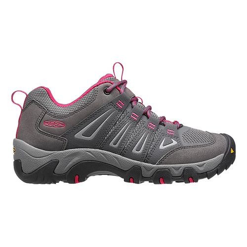 Womens Keen Oakridge Hiking Shoe - Magnet/Rose 6.5