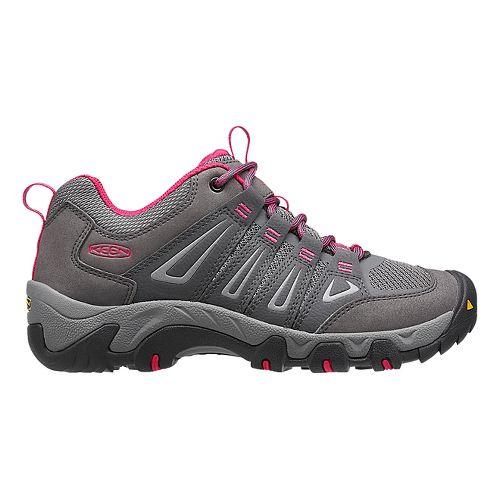 Womens Keen Oakridge Hiking Shoe - Magnet/Rose 7.5