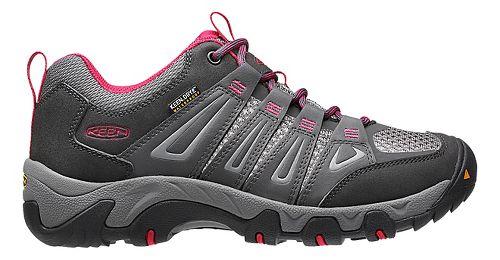 Womens Keen Oakridge WP Hiking Shoe - Magnet/Rose 9