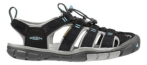 Womens Keen Clearwater CNX Sandals Shoe - Black/Radiance 6