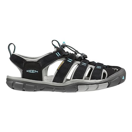 Womens Keen Clearwater CNX Sandals Shoe - Black/Radiance 5