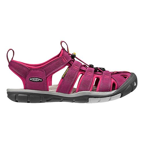 Womens Keen Clearwater CNX Sandals Shoe - Anemone/Acacia 5