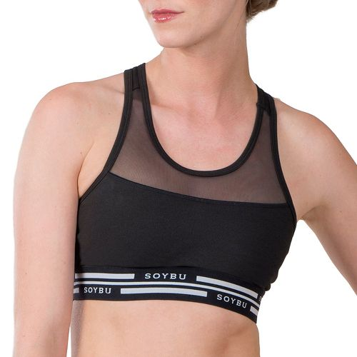 Womens Soybu Optima Sports Bras - Black XS