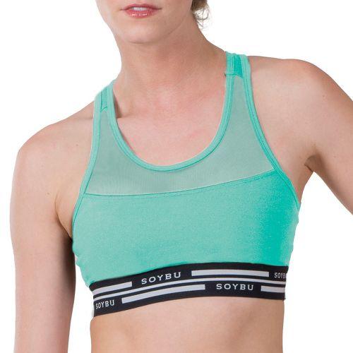 Womens Soybu Optima Sports Bras - Jade XS