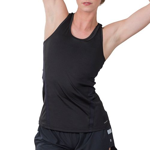 Womens Soybu Resistance Sleeveless & Tank Technical Tops - Black XL